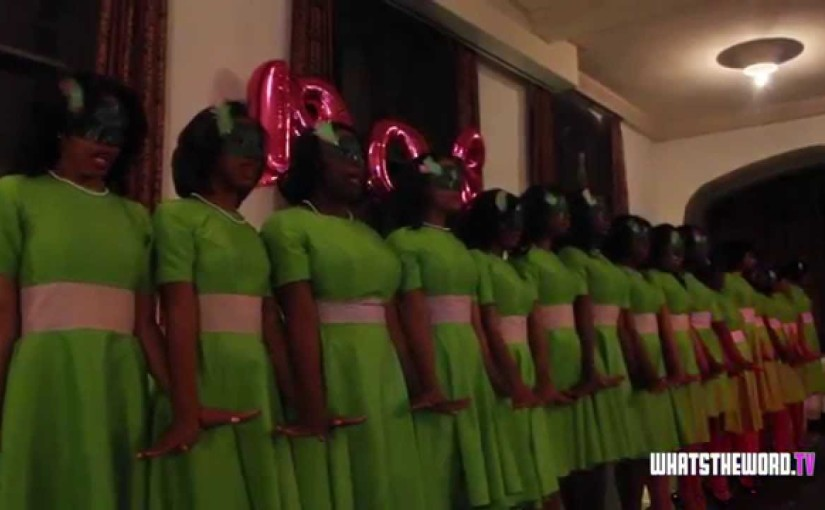 Alpha Kappa Alpha Sorority Inc. Beta Chapter Probate Fall 2014 Pt.1