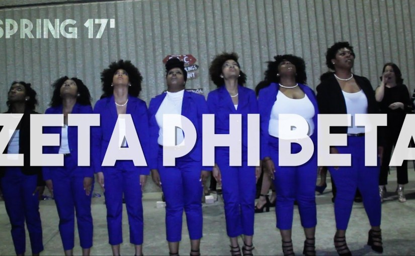Zeta Phi Beta Spring 2017 Probate | HD