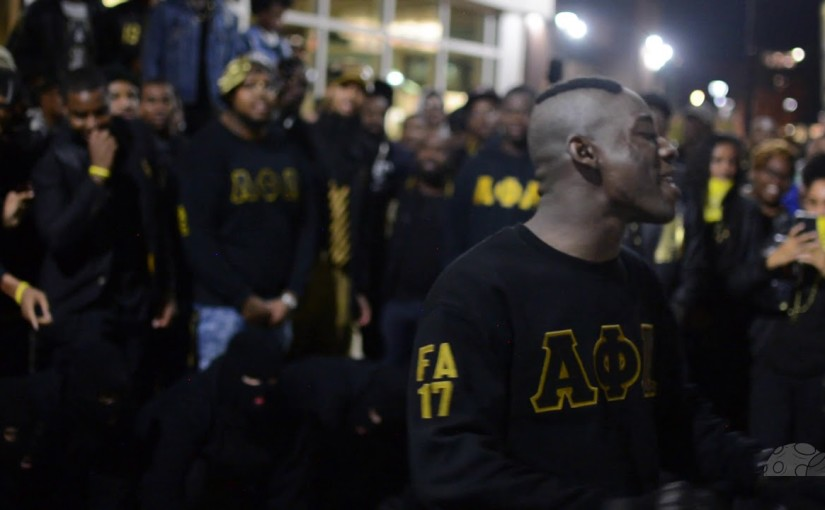 Alpha Phi Alpha – Hz FunCk – Probate Fall 2017